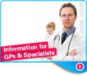 Info for GPs and specialists